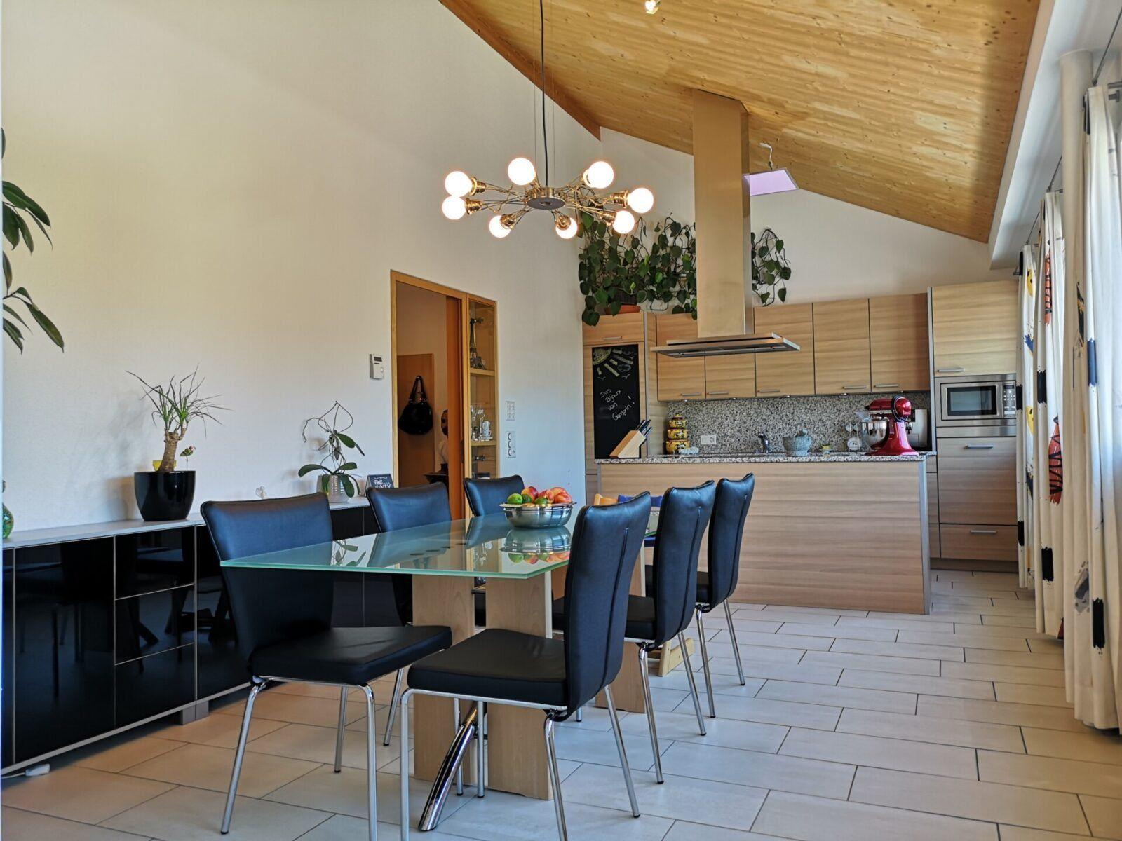 4.5-Zimmer-Dachwohnung an unverbaubarer Lage