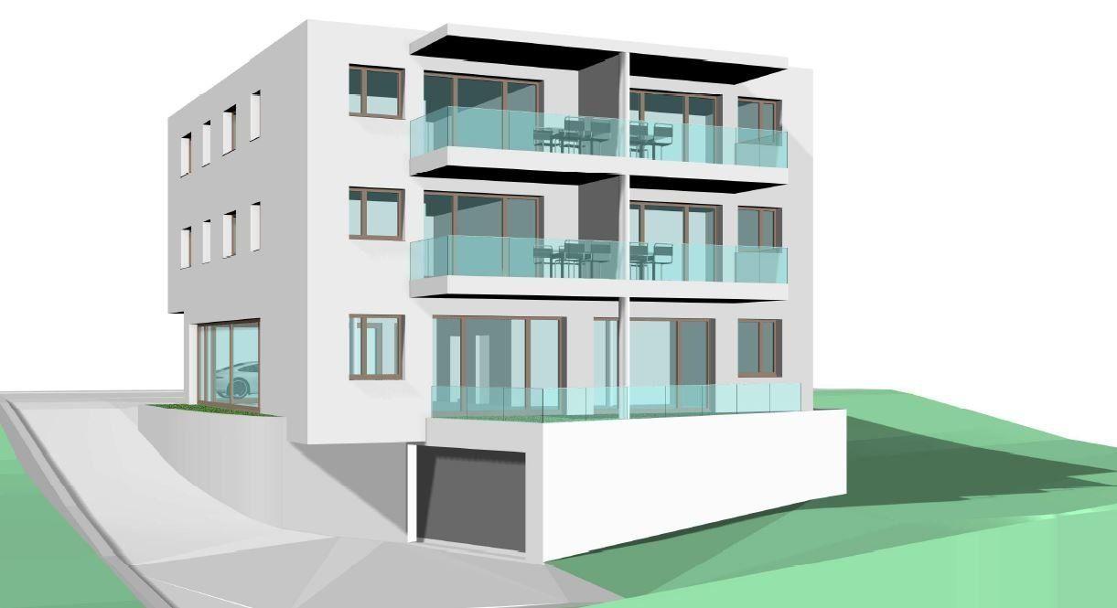 Projektankündigung Wohn- u. Geschäftshaus in Eschen